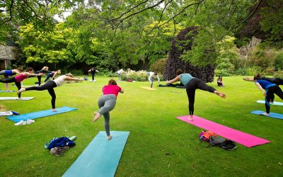 Yoga Next Door summer sessions 2020 in Malahide Castle